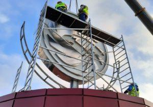 20201202 124417 300x210 - В НТЦ «РЕДУКТОР» завершены работы по модернизации привода логотипа