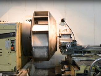 Изготовление крупногабаритных вентиляторных колес