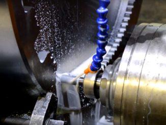 Обработка зубчатого колеса