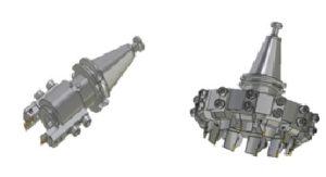 Рисунок 5.Инструментальные головки различных типоразмеров