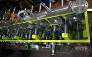 prokatnyj stan 3 300x186 - Изготовление аналога блока прокатного стана