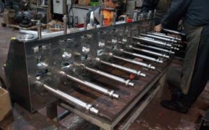Изготовление аналога блока прокатного стана